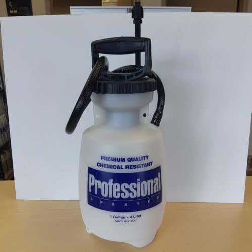 10PV 33 Plastic 1 Gal Spray tank