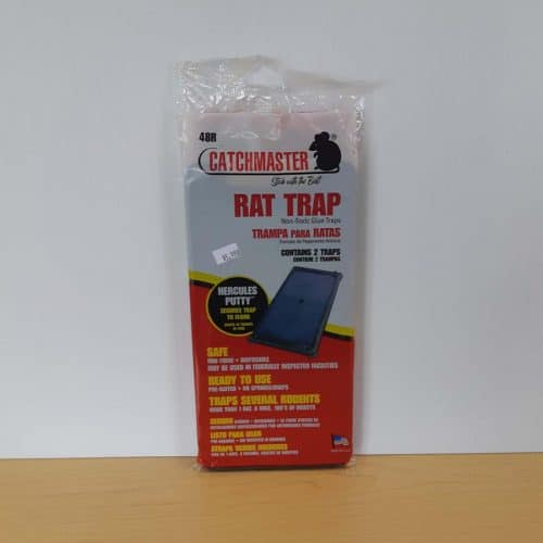Catchmaster 48R Black rat putty GB 2 pk