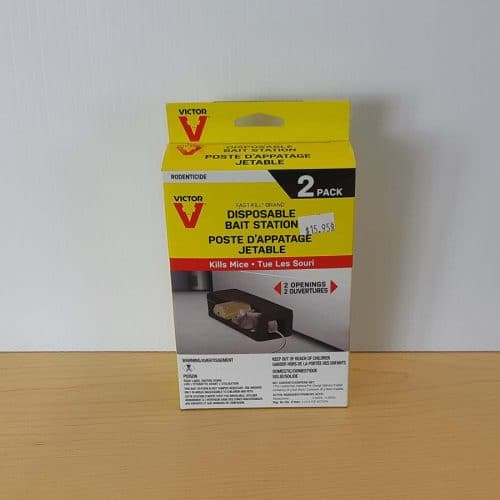 Victor disposable mouse bait station 2 pk